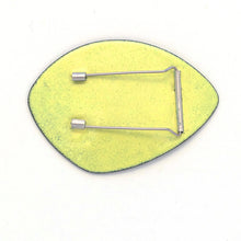 Load image into Gallery viewer, Lime Yellow Brooch