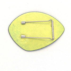 Lime Yellow Brooch