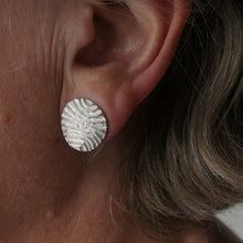 Load image into Gallery viewer, Stud 'Contour' Earrings