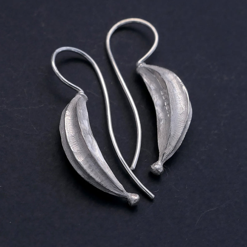 Long seed pod Earrings