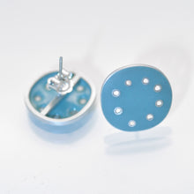 Load image into Gallery viewer, Stud fitting, Earrings Turquoise