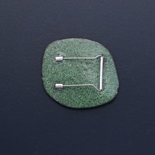 Load image into Gallery viewer, Sgraffito 'Mono-print' Brooch
