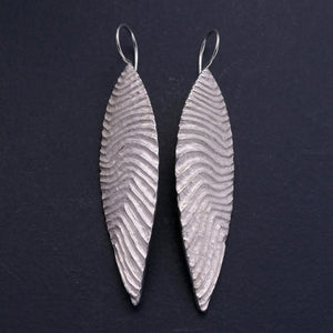 Long Contour Earrings