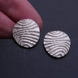 Stud 'Contour' Earrings