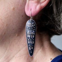 Load image into Gallery viewer, Cleo earrings, long and slender