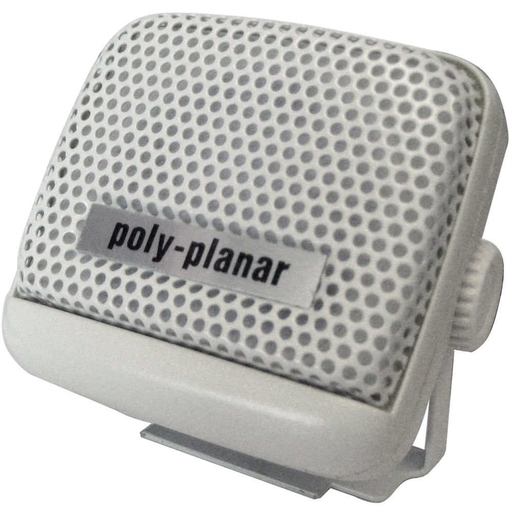 Poly-Planar VHF Extension Speaker - 8W Surface Mount - (Single) White [MB21W]