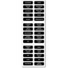 Blue Sea 8030 DC Panel Basic 30 Label Set [8030]