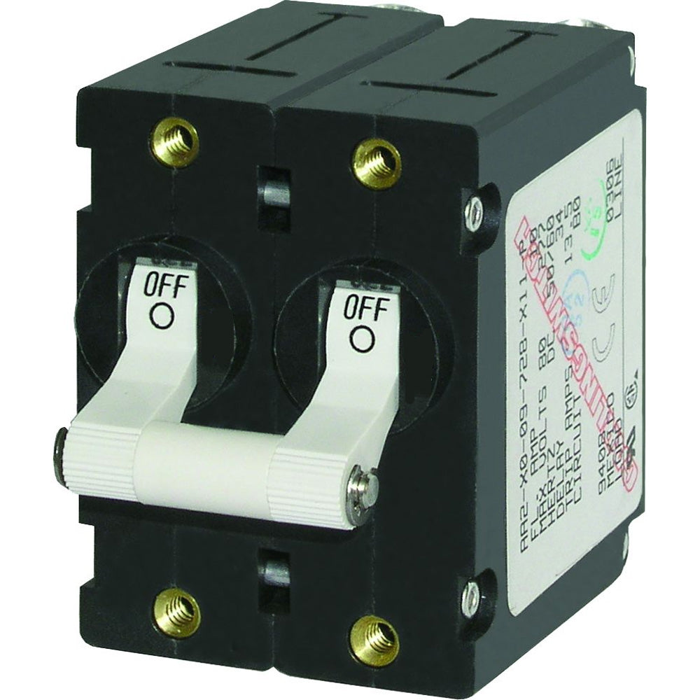 Blue Sea 7235 A-Series Double Pole Toggle - 15AMP - White [7235]