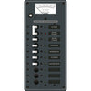 Blue Sea 8588 Breaker Panel - AC Main + 8 Positions (European) - White [8588]