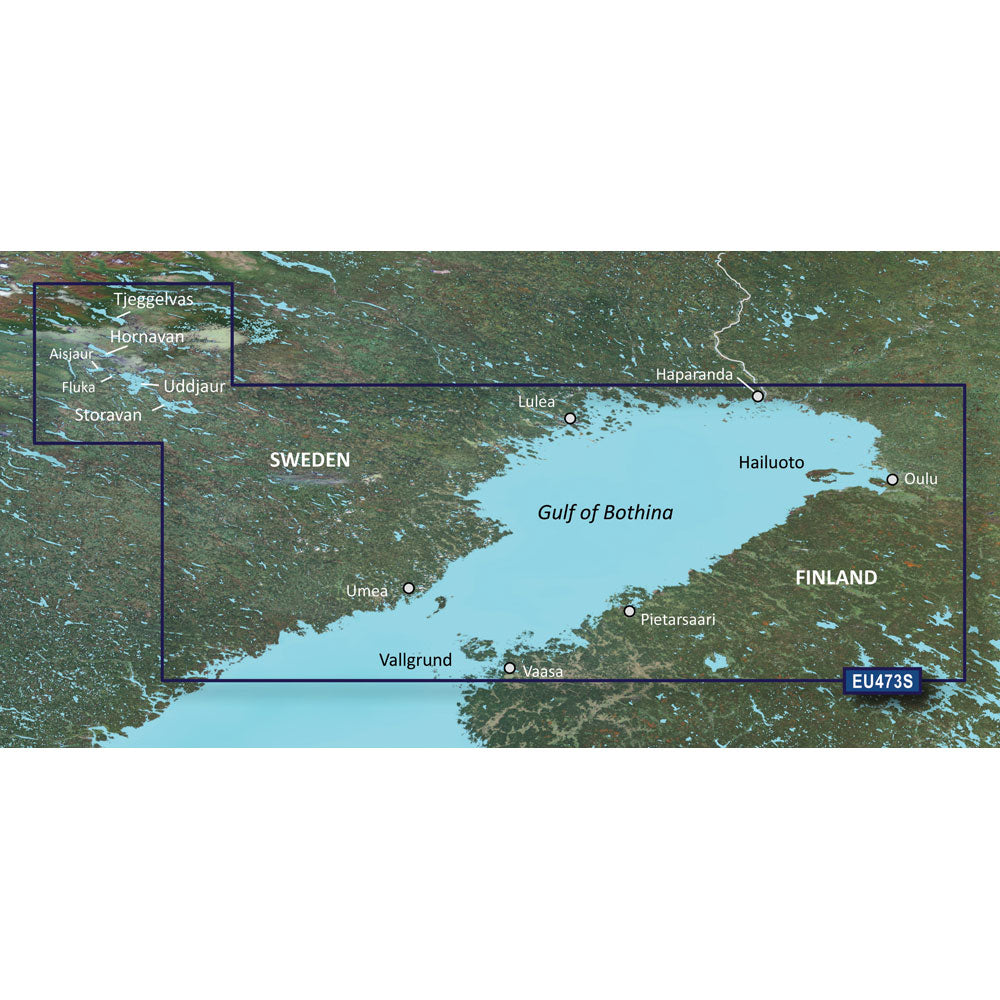 Garmin BlueChart g3 Vision HD - VEU473S - Gulf of Bothnia, North - microSD/SD [010-C0817-00]