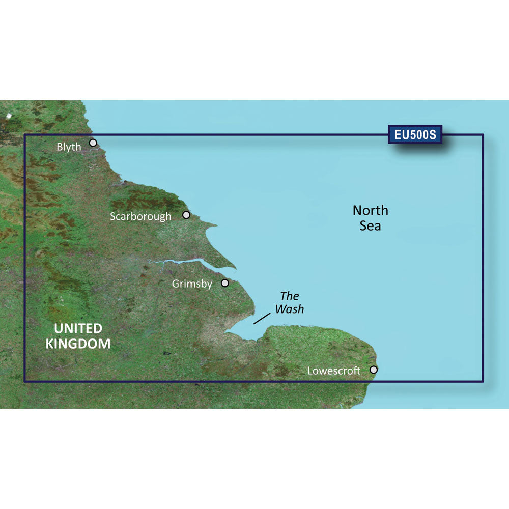 Garmin BlueChart g3 Vision HD - VEU500S - Blyth to Lowestoft - microSD/SD [010-C0844-00]