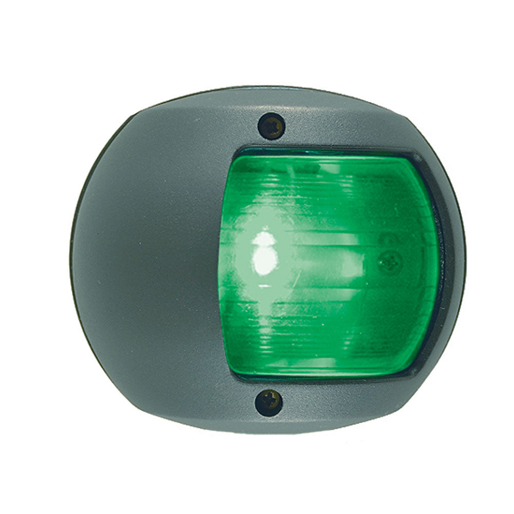 Perko LED Side Light - Green - 12V - Black Plastic Housing [0170BSDDP3]