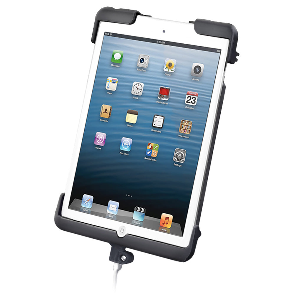 RAM Mount Tab-Dock Cradle f/Apple iPad mini w/o Case, Skin, Sleeve [RAM-HOL-TAB11U]
