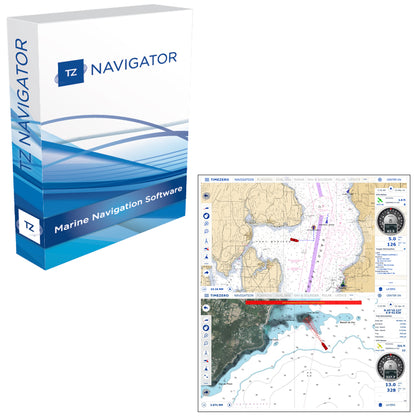 Nobeltec TZ Navigator Upgrade From Legacy Products - VNS/Admiral - Digital Download [TZ-105]