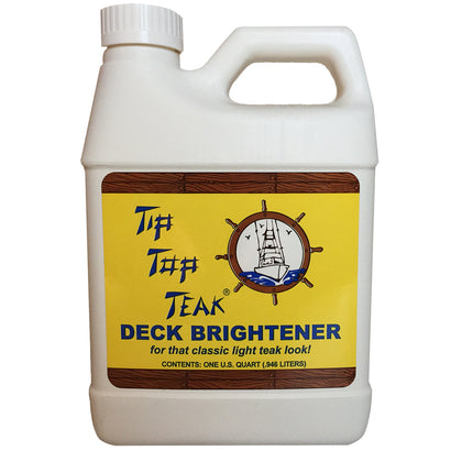Tip Top Teak Deck Brightener - Quart [TB 3001]