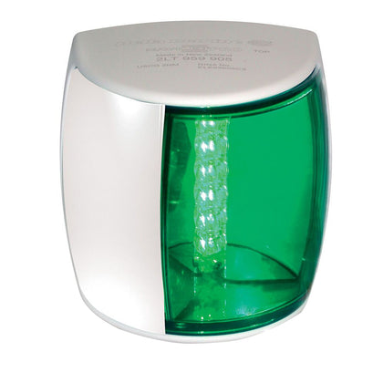 Hella Marine NaviLED PRO Starboard Navigation Lamp - 3nm - Green Lens/White Housing [959908211]