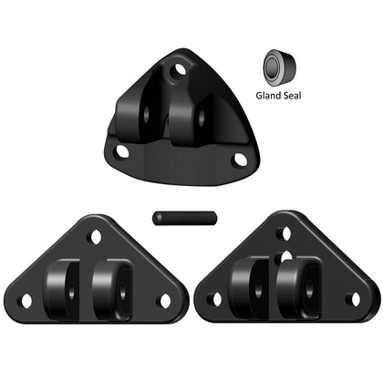 Lenco Universal Actuator Mounting Bracket Replacement Kit [15099-001]