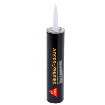 Sika Sikaflex 505UV High Performance Exterior Grade Sealant - 10.3oz(300ml) Cartridge - White [188024]