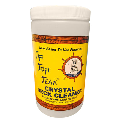 Tip Top Teak Tip Top Teak Crystal Deck Cleaner - Quart (2lbs 6oz) - *Case of 12* [TC 2000CASE]
