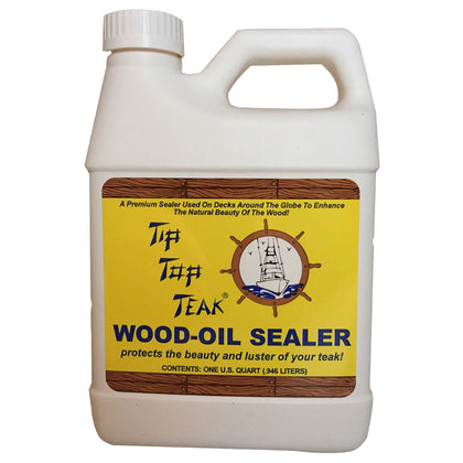 Tip Top Teak Tip Top Teak Wood Oil Sealer - Quart - *Case of 12* [TS 1001CASE]
