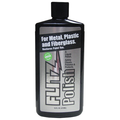Flitz Polish - 16oz Liquid Bottle - *Case of 6* [LQ 04506CASE]