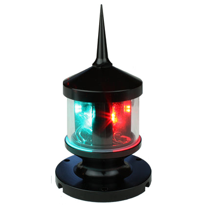 Lunasea Tri-Color/Anchor/Strobe LED Navigation Light [LLB-53BK-01-00]