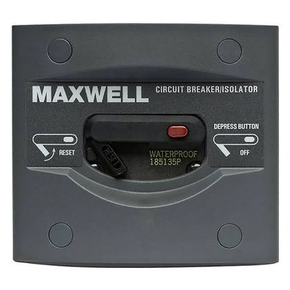 Maxwell Circuit Breaker Isolator Panel - 80 AMP [P100790]