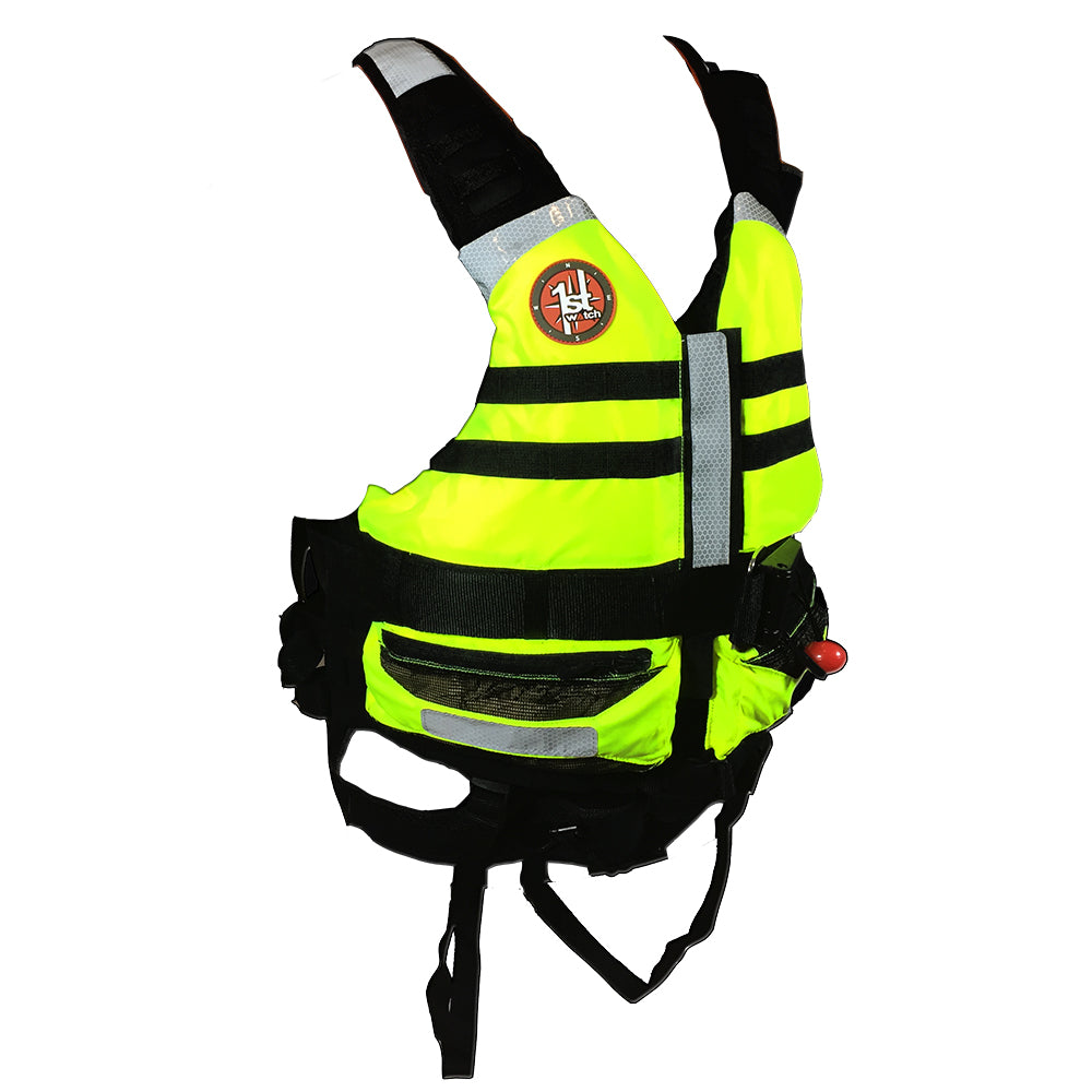 First Watch Rescue Swimming Vest - Hi-Vis Yellow [SWV-100-HV-U]