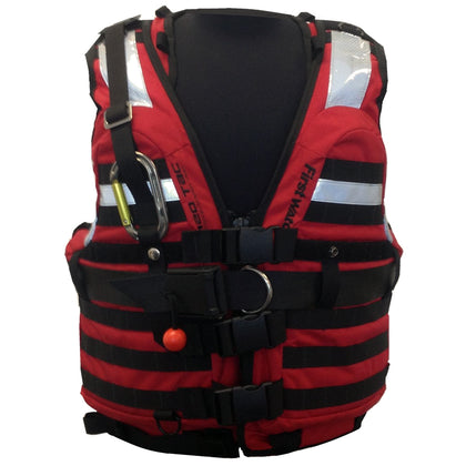 First Watch HBV-100 High Buoyancy Type V Rescue Vest - Medium-X-Large - Red [HBV-100-RD-M-XL]