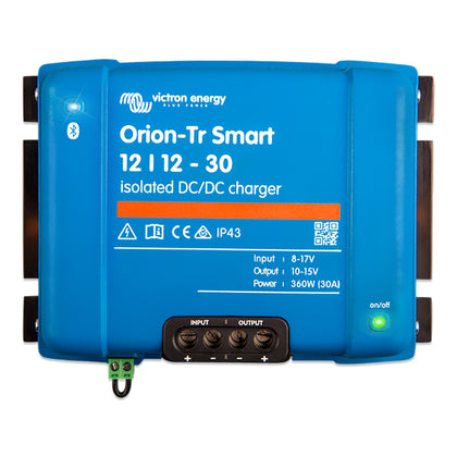Victron Orion-TR Smart 12/12-30 30A (360W) Isolated DC-DC or Power Supply [ORI121236120]