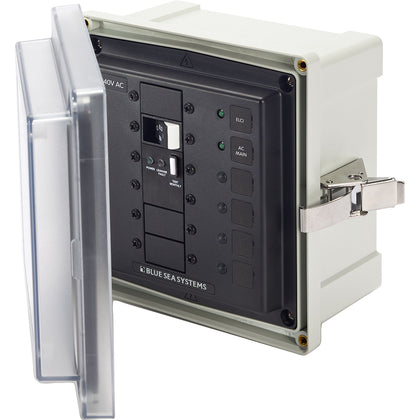 Blue Sea 3120 SMS Surface Mount System Panel Enclosure - 240V AC/50A ELCI Main f/Isolation Transformer [3120]