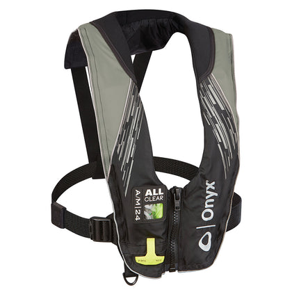 Onyx A/M-24 Series All Clear Automatic/Manual Inflatable Life Jacket - Grey - Adult [132200-701-004-21]