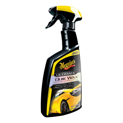 Meguiars Ultimate Quik Wax  Increased Gloss, Shine  Protection w/Ultimate Quik Wax - 24oz [G200924]