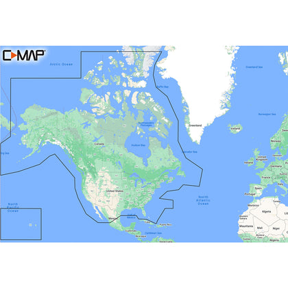 C-MAP M-NA-Y200-MS DISCOVER North America [M-NA-Y200-MS]