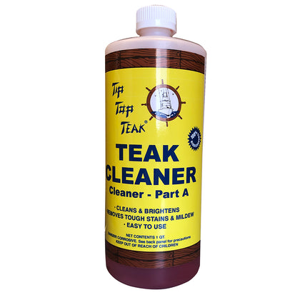 Tip Top Teak Cleaner Part A - Quart [TC861]