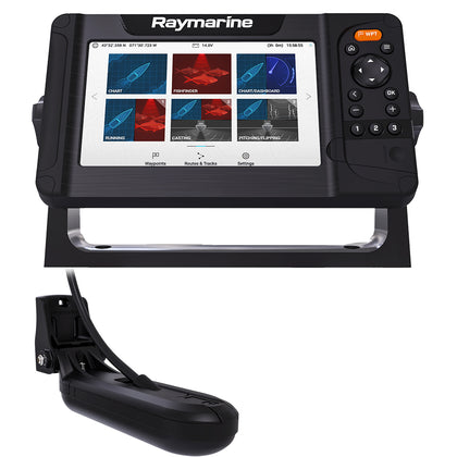 Raymarine Element 7 HV Combo w/HV-100 Transom Mount Transducer  Lighthouse North America Chart [E70532-05-102]