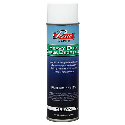 Presta Heavy Duty Citrus Degreaser - 15oz [167115]
