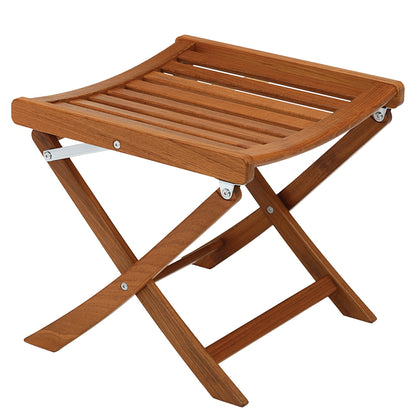 Whitecap Matching Foot Stool - Teak [60072]