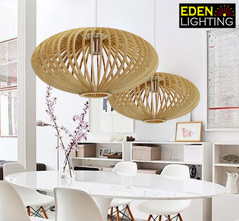 Wood Pendant lights