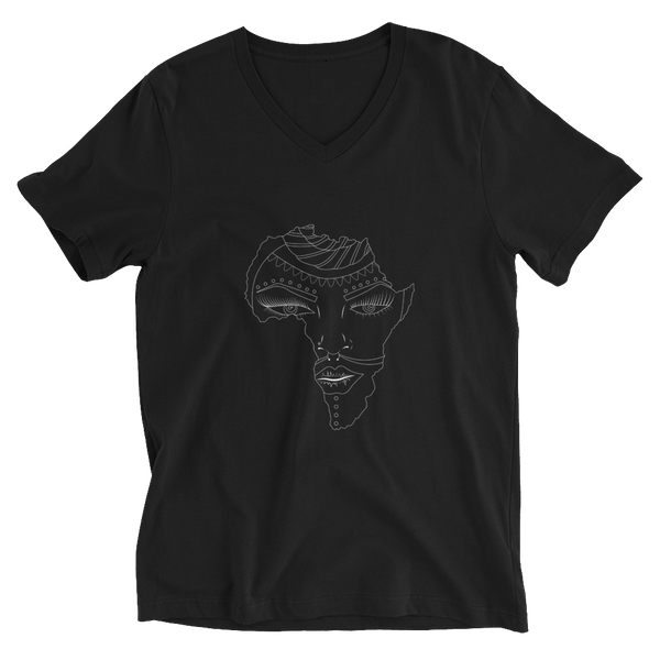 Motherland Unisex Short Sleeve V-Neck T-Shirt