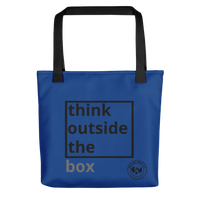 Outside Of The Box Tote Bag