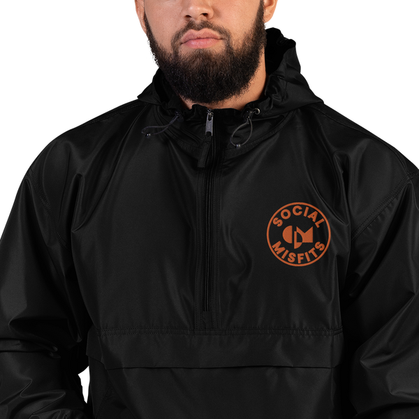 Social Misfits X Champion Packable Jacket (Orange)