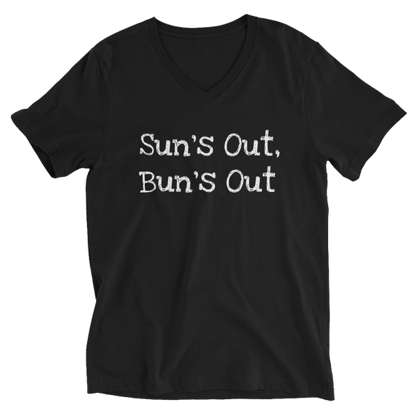 Bun's Out Unisex V-Neck Tee