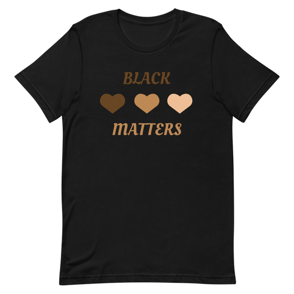 Black Love Matters Short-Sleeve Unisex T-Shirt