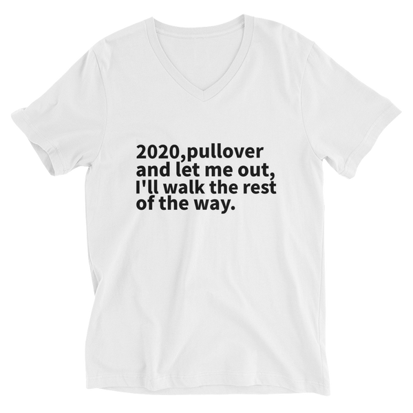 2020 Road Trip Unisex Short Sleeve V-Neck T-Shirt