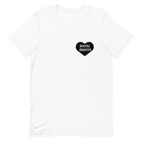 Black Heart Social Misfits Short-Sleeve Unisex T-Shirt