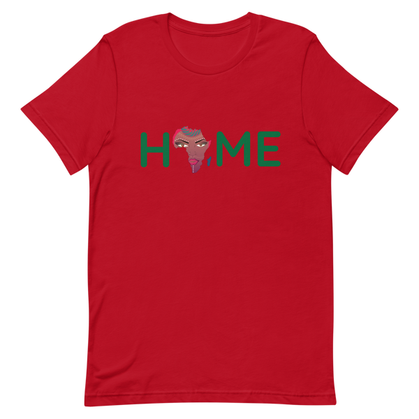 Africa Is Home (Green) Short-Sleeve Unisex T-Shirt