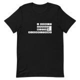 Binary Argument Short-Sleeve Unisex T-Shirt