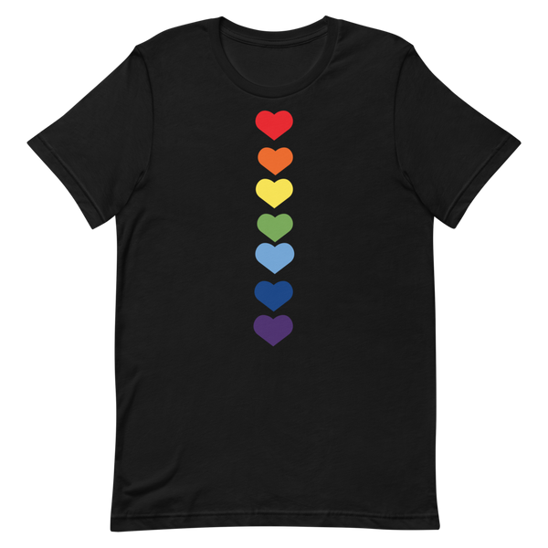 Lifestyle Hearts Short-Sleeve Unisex T-Shirt