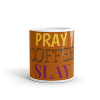 Pray, Coffee, Slay Mug